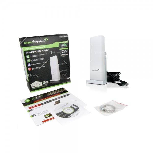 Професионалeн високоскоростен High-Power Wireless-N USB адаптер 3