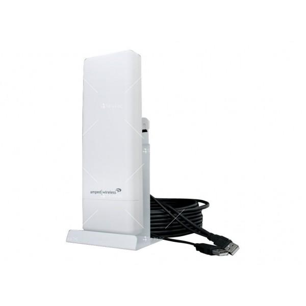 Професионалeн високоскоростен High-Power Wireless-N USB адаптер 5