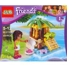 Детски конструктор Friends Тропически остров