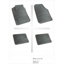 Универсални гумени стелки за автомобил - без неприятна миризма Модел 1
