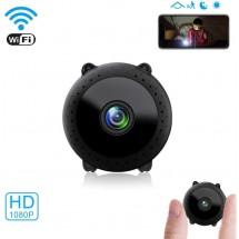 Преносима и безжична мини HD камера за тайно наблюдение с Wi-Fi връзка IP20