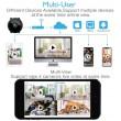 Преносима и безжична мини HD камера за тайно наблюдение с Wi-Fi връзка IP20 4
