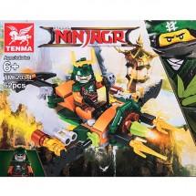 Детски конструктор Ninja – боен самолет на Оверлорд TM.6203-4