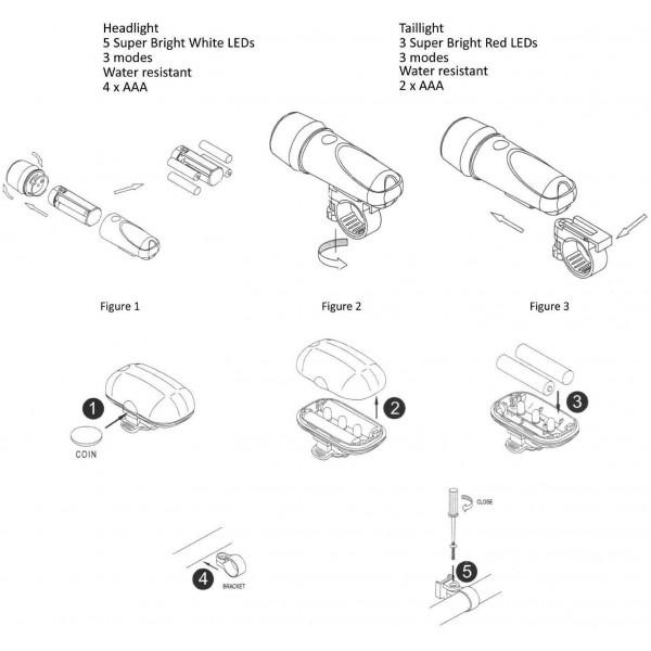 Power Beam Torch - фенер за колело 2