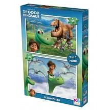 Пъзел Добрият динозавър 2 в 1
