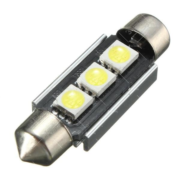 LED интериорна крушка за автомобил 5050 12-24V