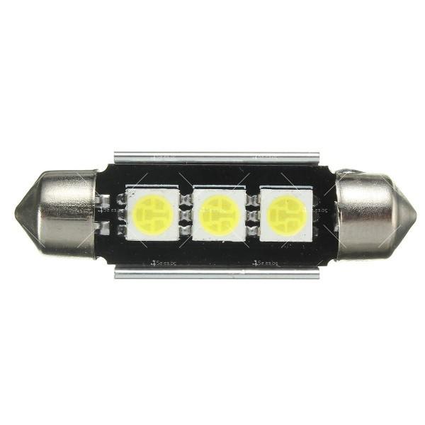 LED интериорна крушка за автомобил 5050 12-24V 2