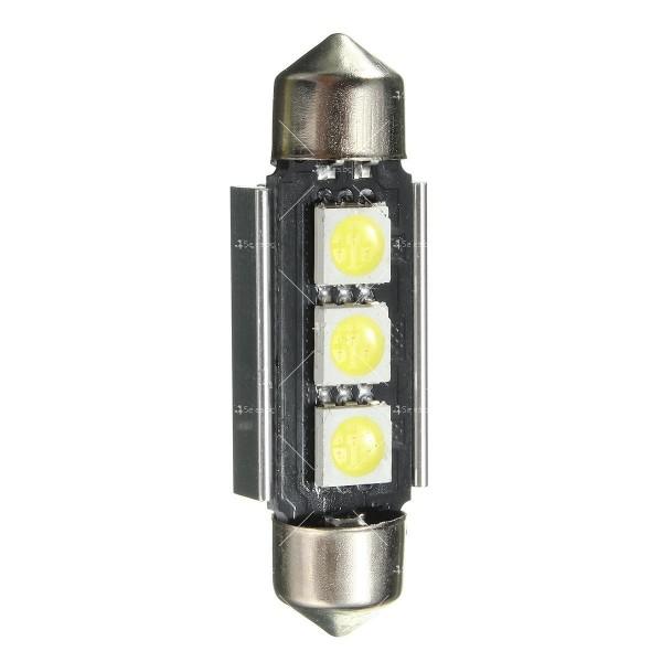 LED интериорна крушка за автомобил 5050 12-24V 3