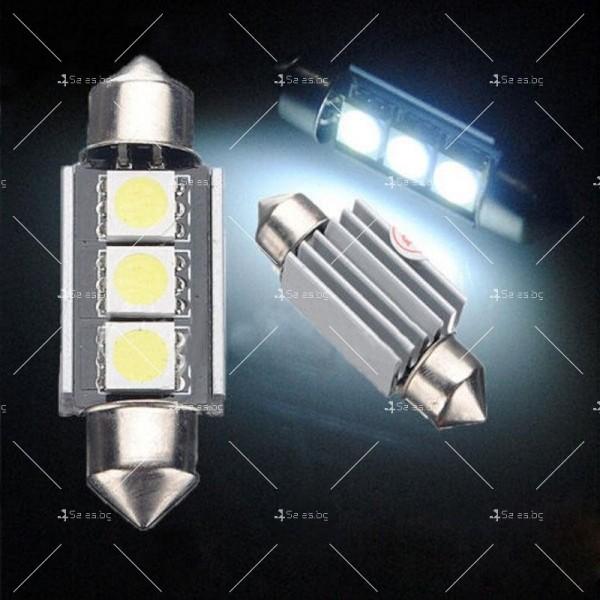 LED интериорна крушка за автомобил 5050 12-24V 4