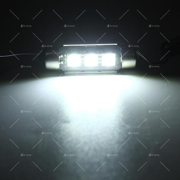 LED интериорна крушка за автомобил 5050 12-24V 5