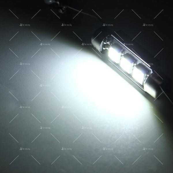 LED интериорна крушка за автомобил 5050 12-24V 6
