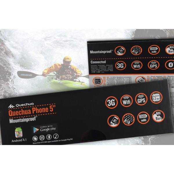 Quechua Phone Mountainproof - удароустойчив и водоустойчив телефон 3