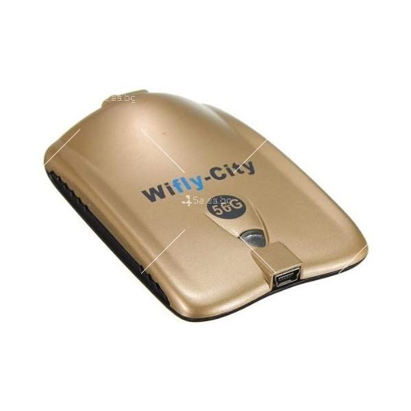 Wifly City Безжичен USB WI-FI адаптер WF24