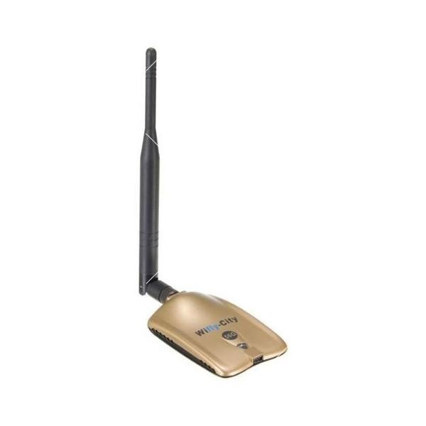 Wifly City Безжичен USB WI-FI адаптер WF24 4