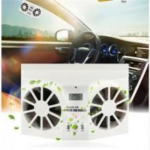 Охладител за кола със соларен панел TV452