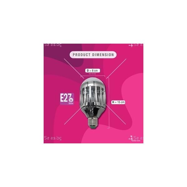 LED 2 в 1 лампа против комари 3