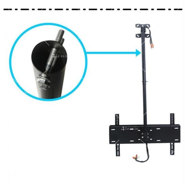 Универсална ТВ стойка за таван за 32-70 инчови монитори TV STOIK-14 3