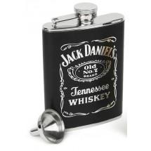 манерка за алкохол, чашки, фунийка и лула Jack Daniel's