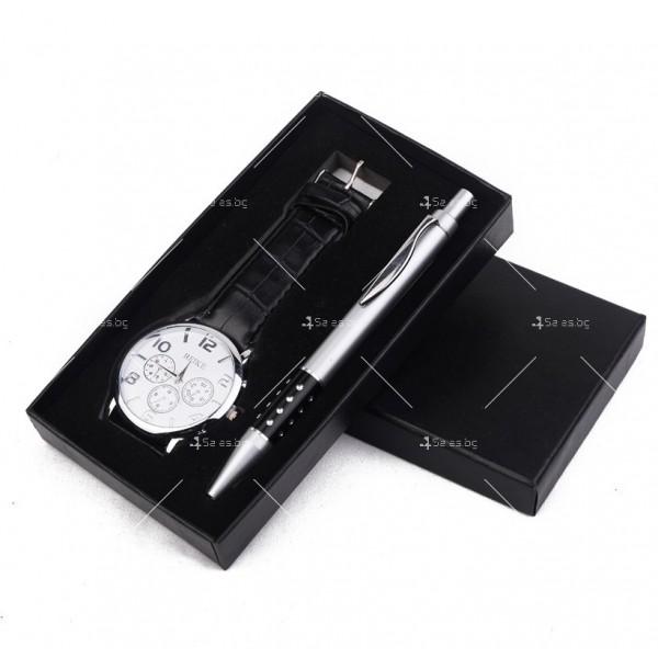 Бизнес комплект – кварцов часовник и химикалка