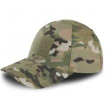 Камуфлажна шапка с козирка