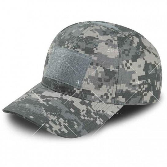 Мъжка шапка, тип бейзболна /камуфлажна