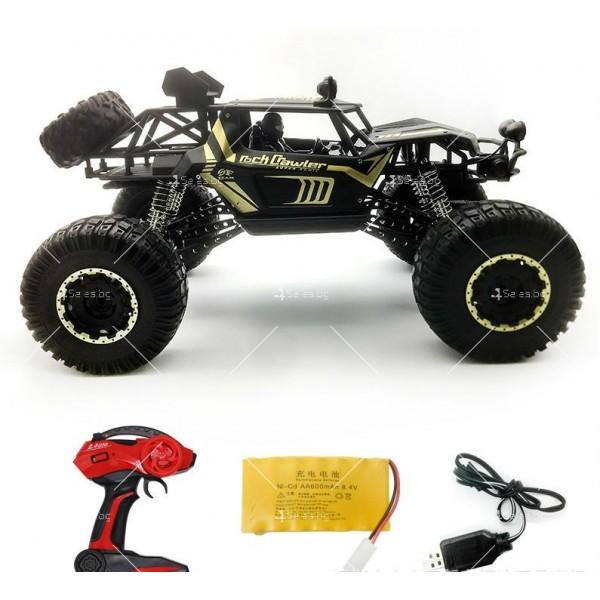 Радиоуправляема количка Rock Crawler 4х4 Monster Truck TOY CAR-12 2