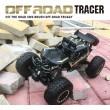 Радиоуправляема количка Rock Crawler 4х4 Monster Truck TOY CAR-12 3