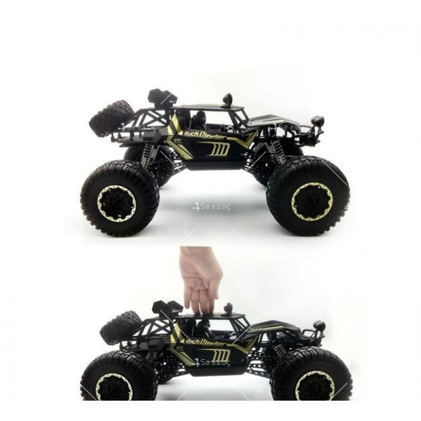 Радиоуправляема количка Rock Crawler 4х4 Monster Truck TOY CAR-12 5