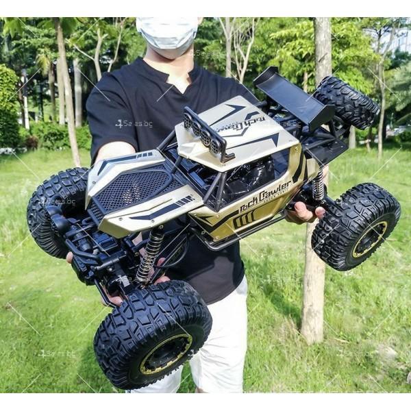 Радиоуправляема количка Rock Crawler 4х4 Monster Truck TOY CAR-12 6