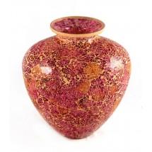 Тъмно червена ваза