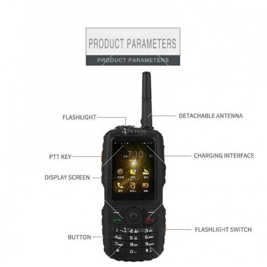 Мобилен смартфон + уоки токи Zello модел А17 - A17 FON