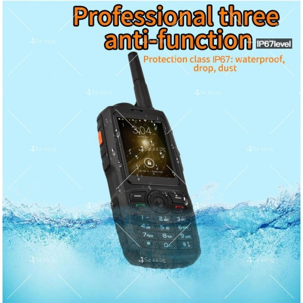 Мобилен смартфон + уоки токи Zello модел А17 - A17 FON 4
