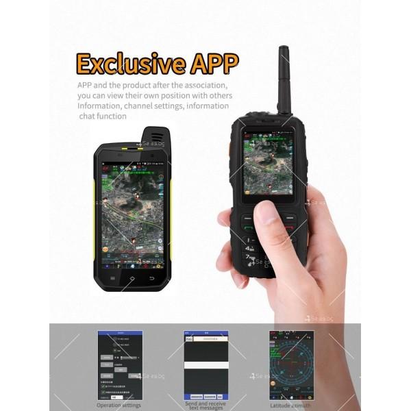 Мобилен смартфон + уоки токи Zello модел А17 - A17 FON 5