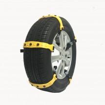 Жълти PVC вериги за сняг тип колан – SNOW CHAIN-1(10PCS)