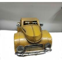Сувенирен ретро автомобил в жълто