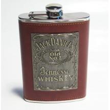 Метална сувенирна манерка за алкохол Jack Daniel's