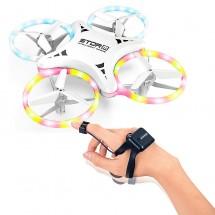 Сгъваем дрон с дистанционно управление за китка и LЕD светлини 0-23 dron