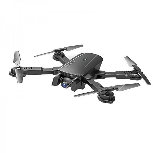 Сгъваем дрон 1808 DRON 1080P, 4K двойна камера и дистанционно управление 2