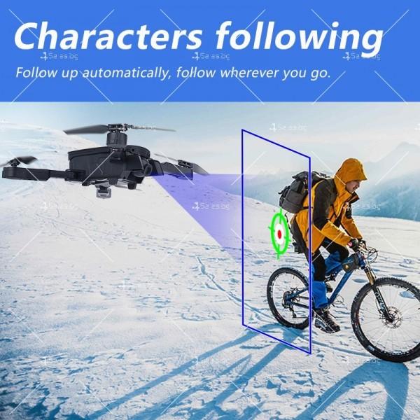 Сгъваем дрон 1808 DRON 1080P, 4K двойна камера и дистанционно управление 3