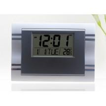 Стенен цифров голям часовник с LCD дисплей SILICEO 6605 TV404