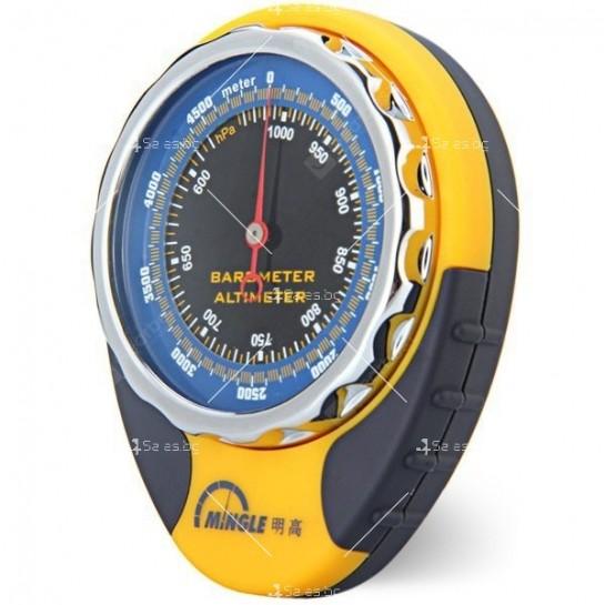Барометров висотомер BKT381 барометър, термометър и компас TV471