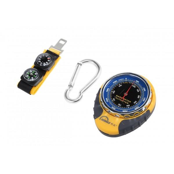 Барометров висотомер BKT381 барометър, термометър и компас TV471 3