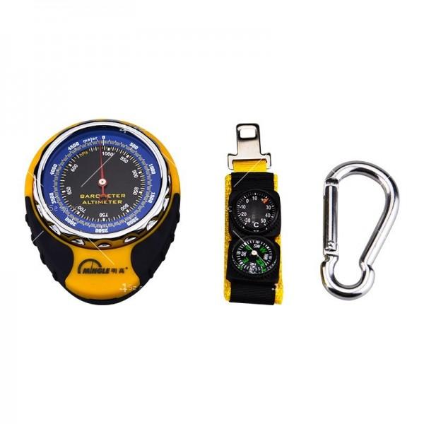Барометров висотомер BKT381 барометър, термометър и компас TV471 4