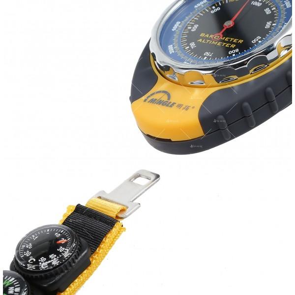 Барометров висотомер BKT381 барометър, термометър и компас TV471 6