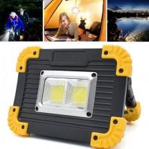 Акумулаторен прожектор LL812 LED