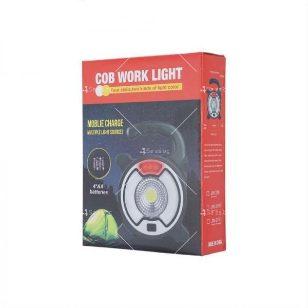 LED преносима лампа COB Work Light за дома