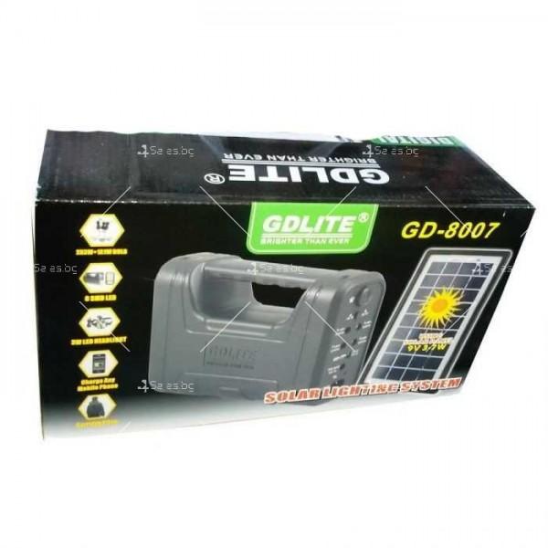 Соларна система за осветление GD-8007 3
