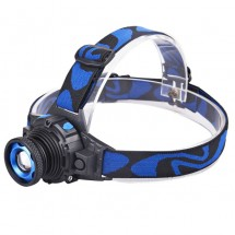 Водоустойчив фенер - челник за глава