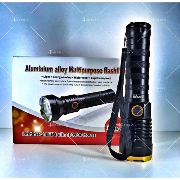 Многофункционално фенерче от алуминиева сплав 2
