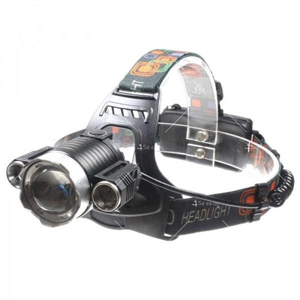 Водоустойчив фенер челник за глава FL24B 1